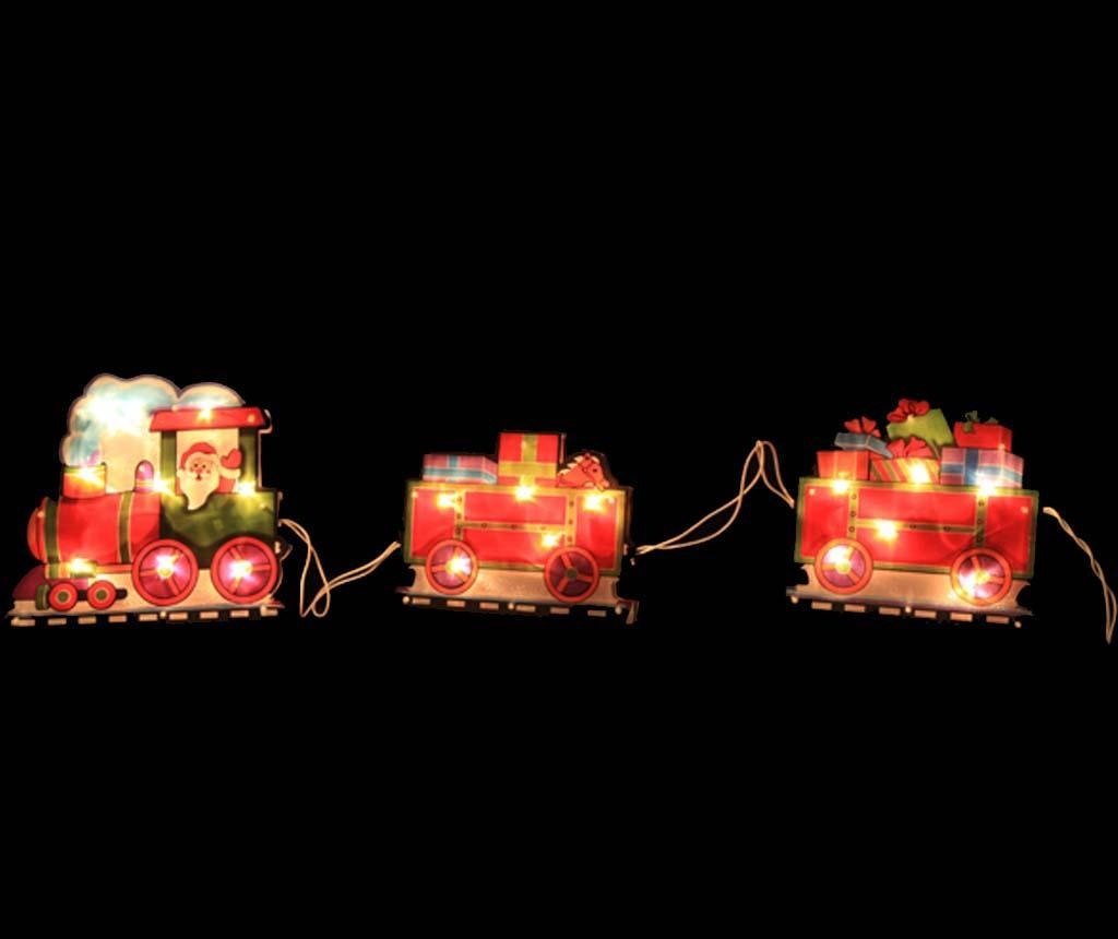Decoratiune luminoasa Santa Train