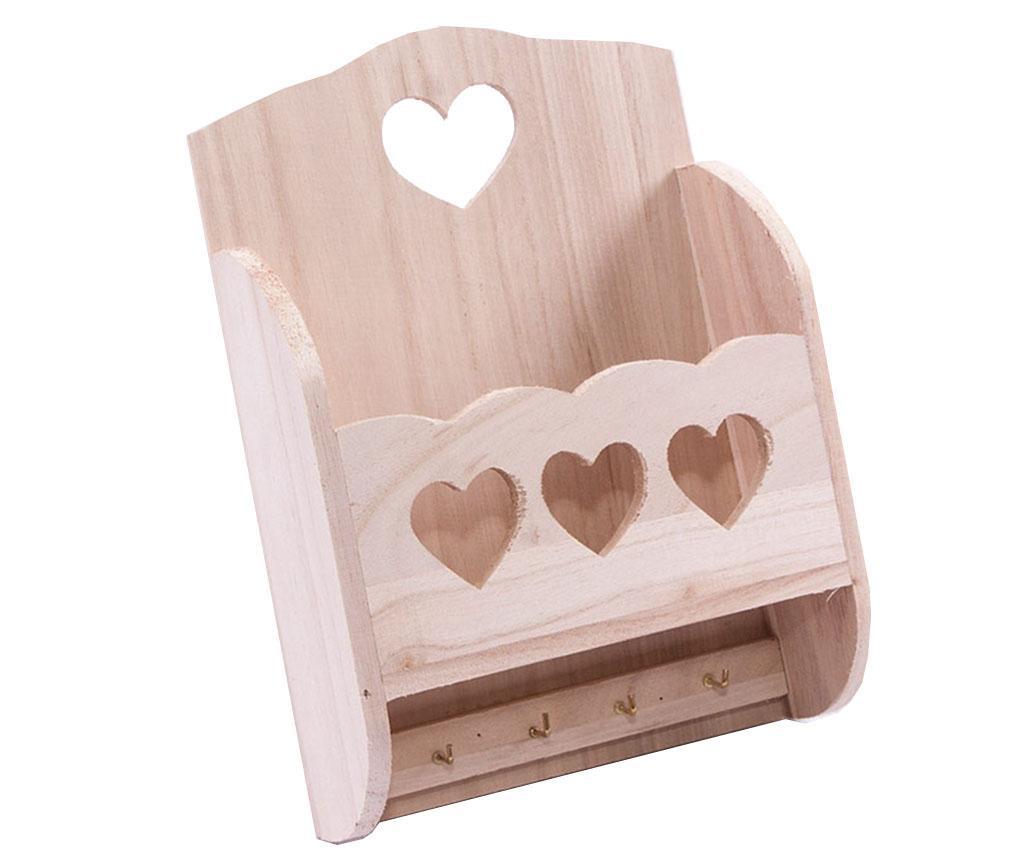 DIY Hearts Kulcstartó