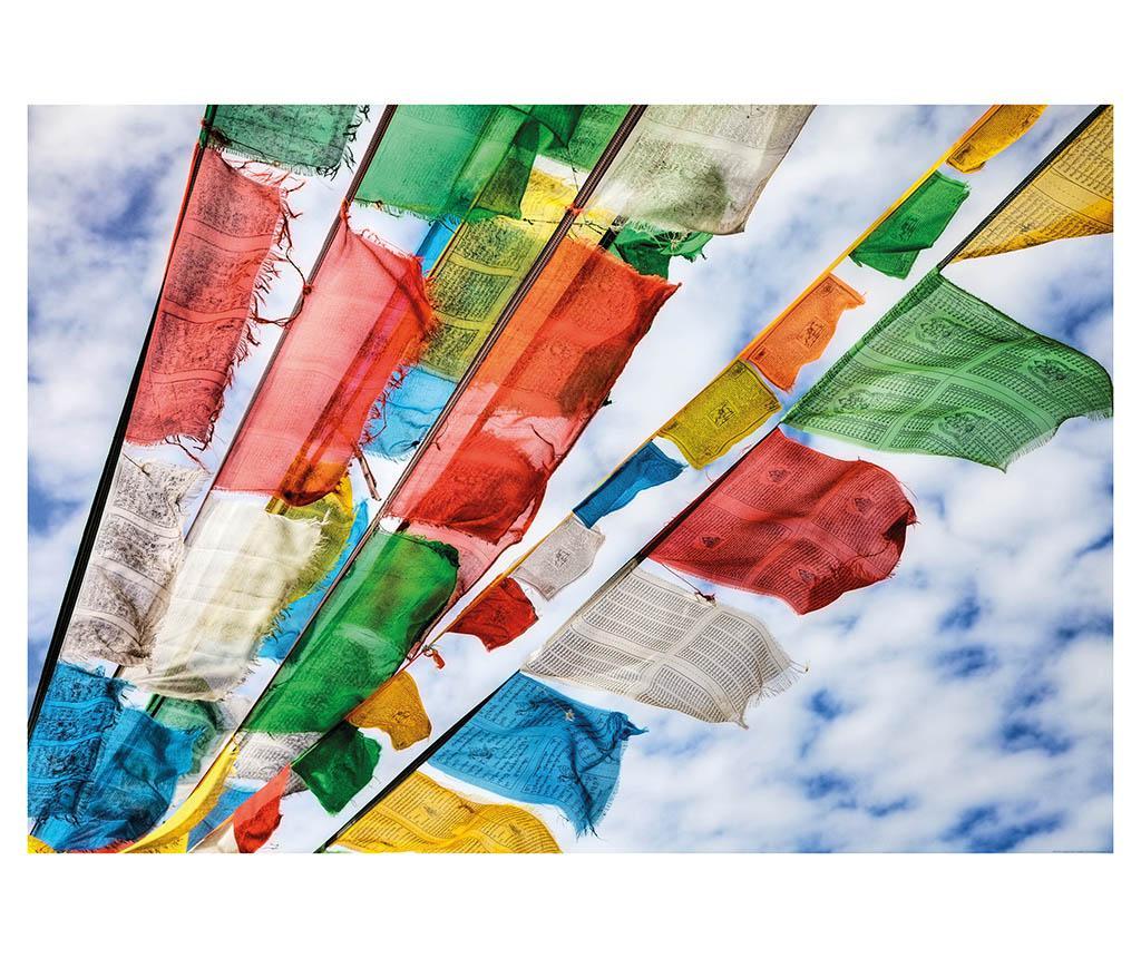 Fototapeta Prayer Flags 127x184 cm