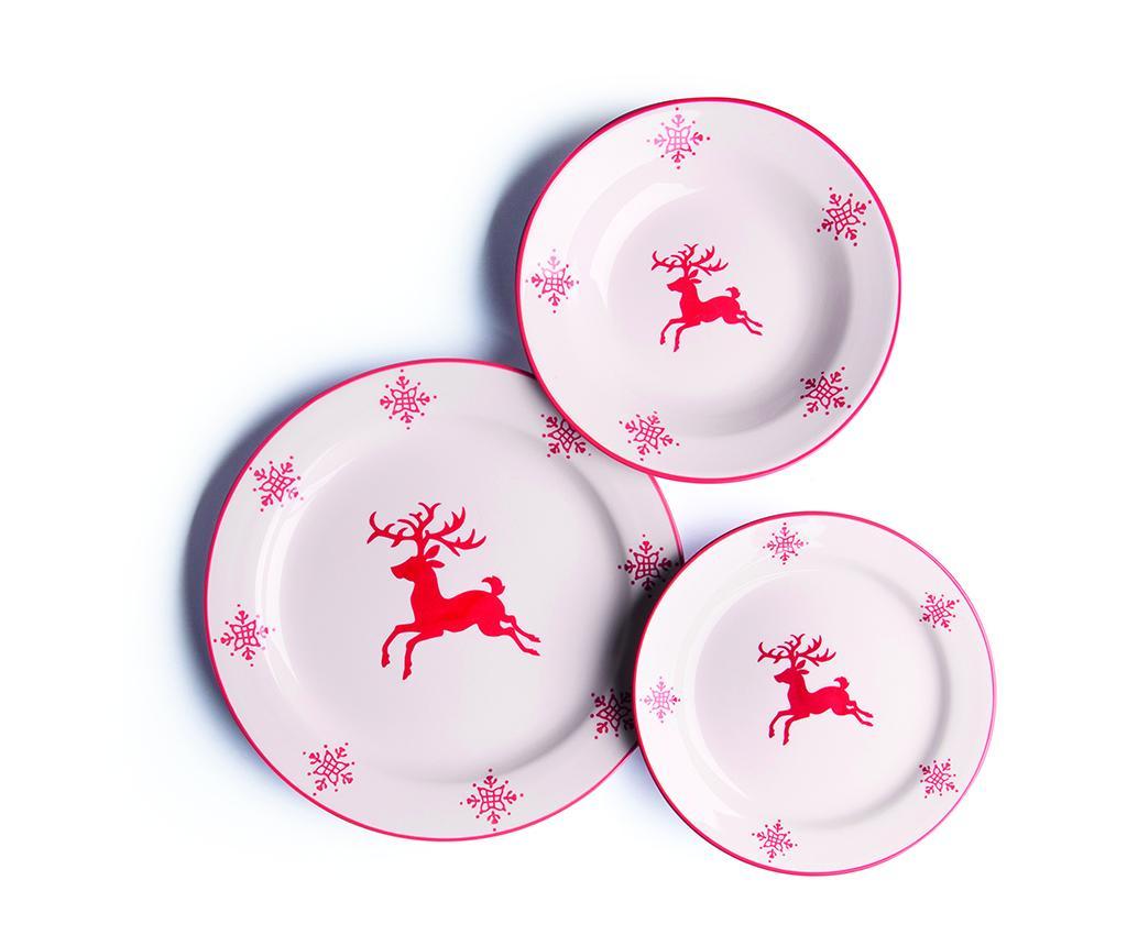 Zastawa stołowa 18 części Reindeer