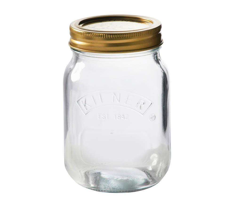 Staklenka s   poklopcem Preserve 500 ml