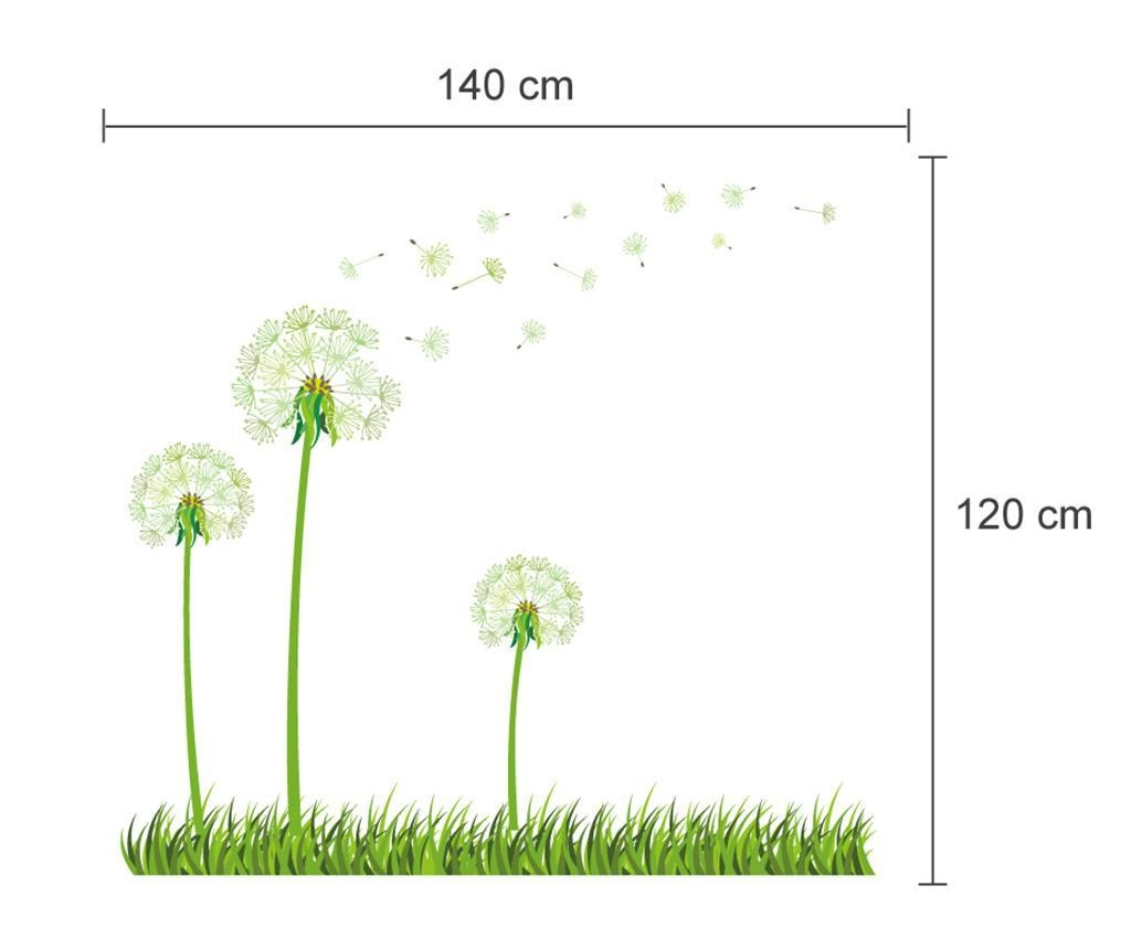 Sticker fosforescent Dandelion
