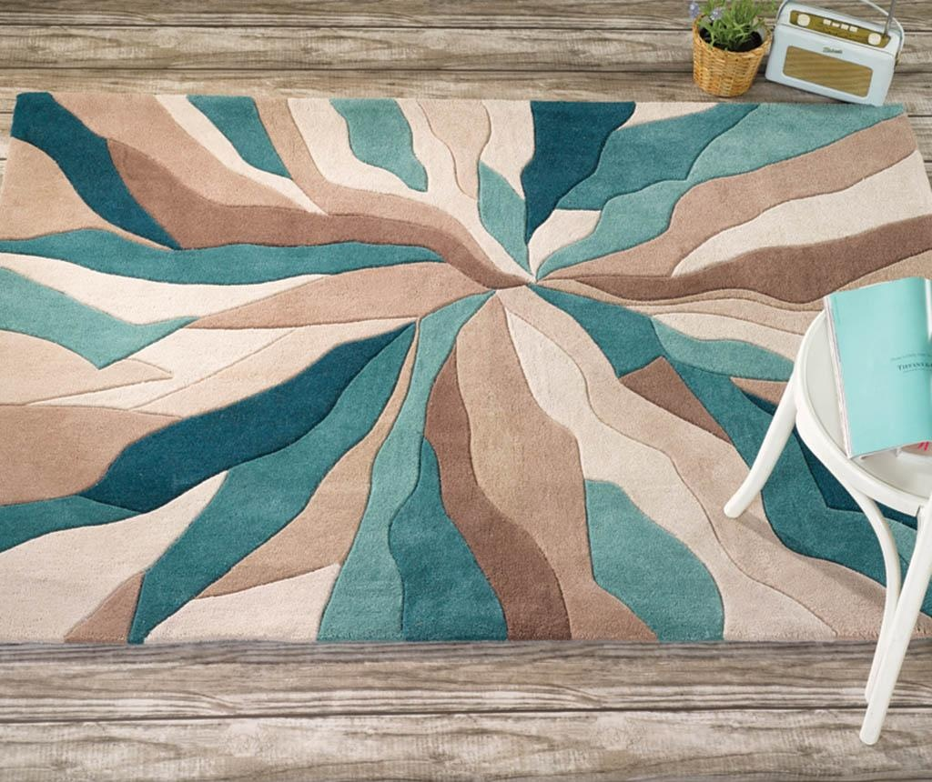 Tepih Splinter Teal 160x220 cm