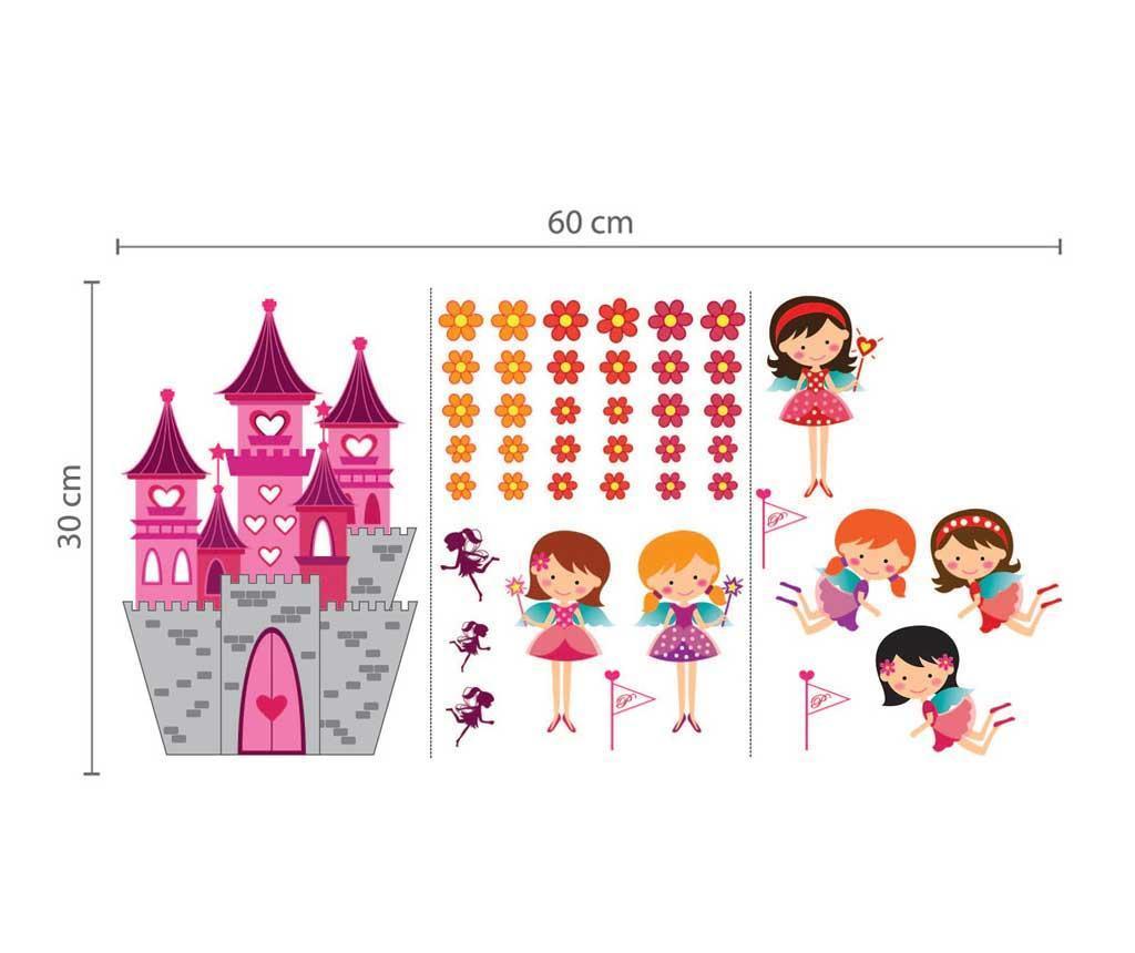 Sticker Enchanted Castle