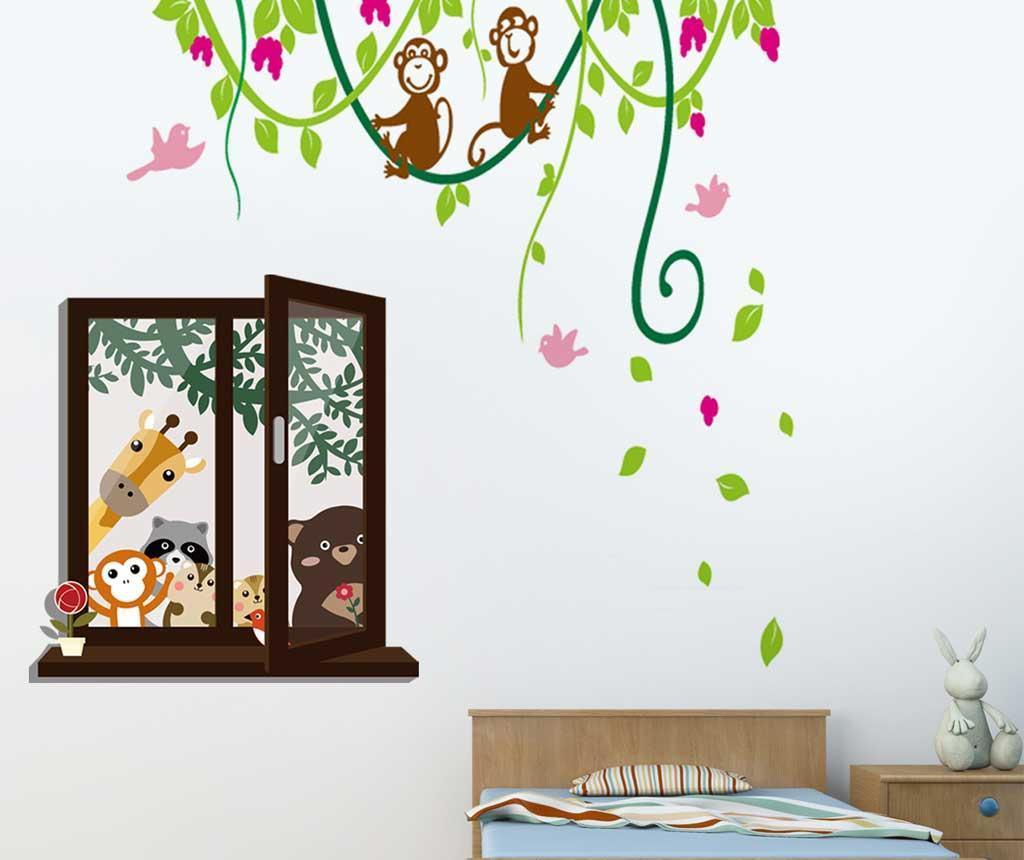 Sticker Friends and Monkey Jungle