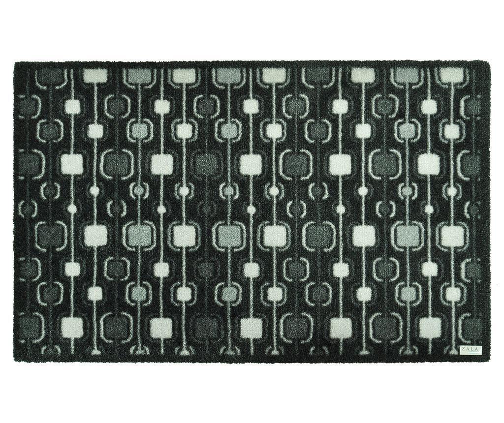 Funky Grey Lábtörlő szőnyeg 50x70 cm