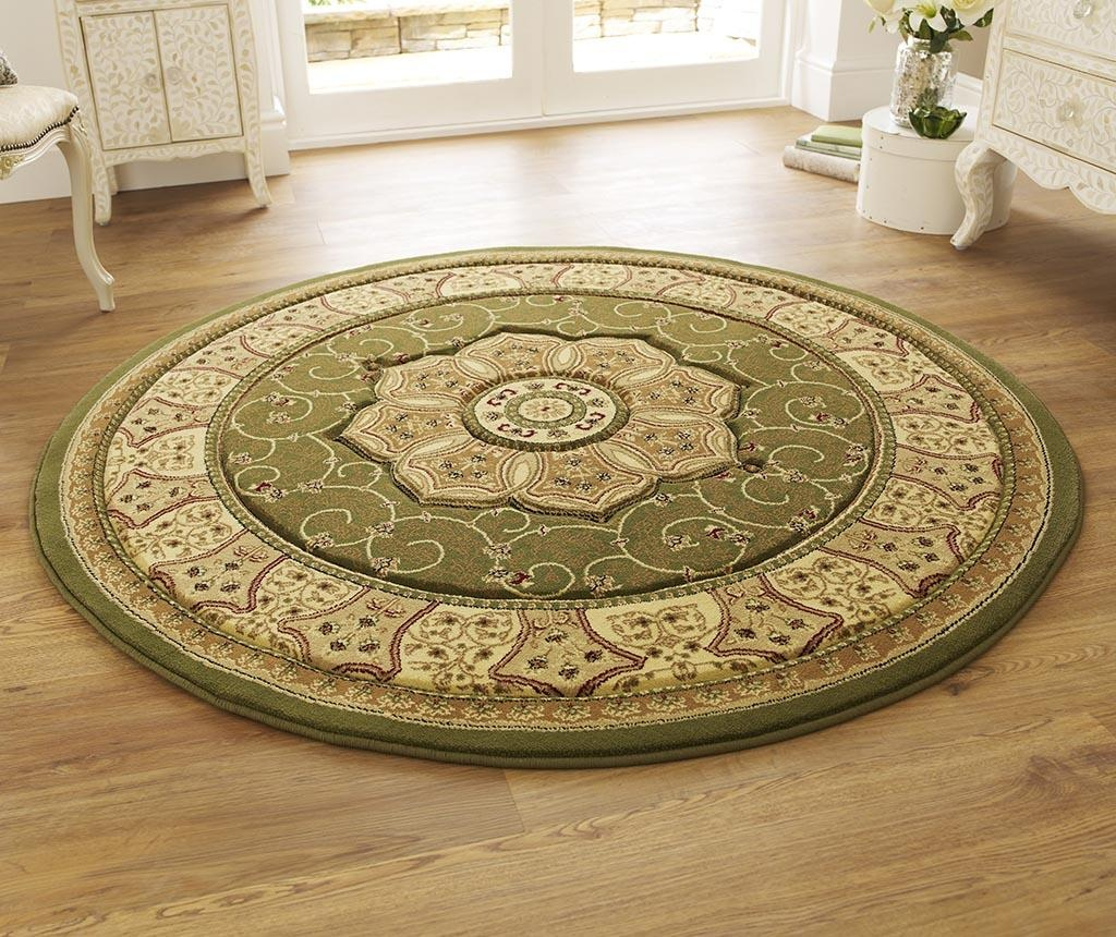 Covor Heritage Olive Circle 150 cm