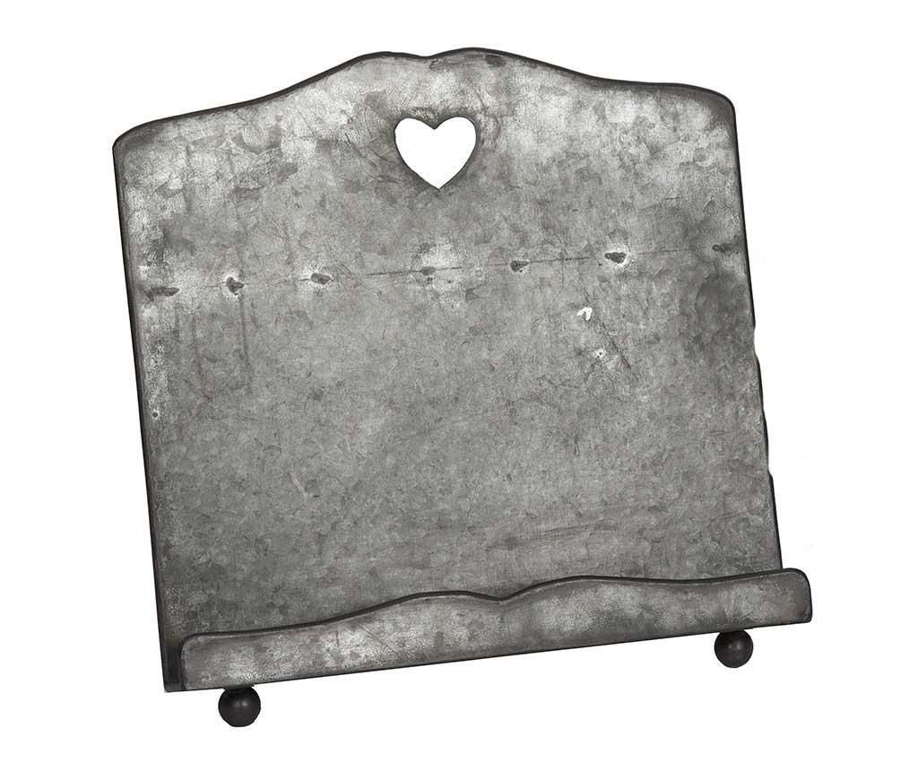 Suport pentru carte de bucate Grey