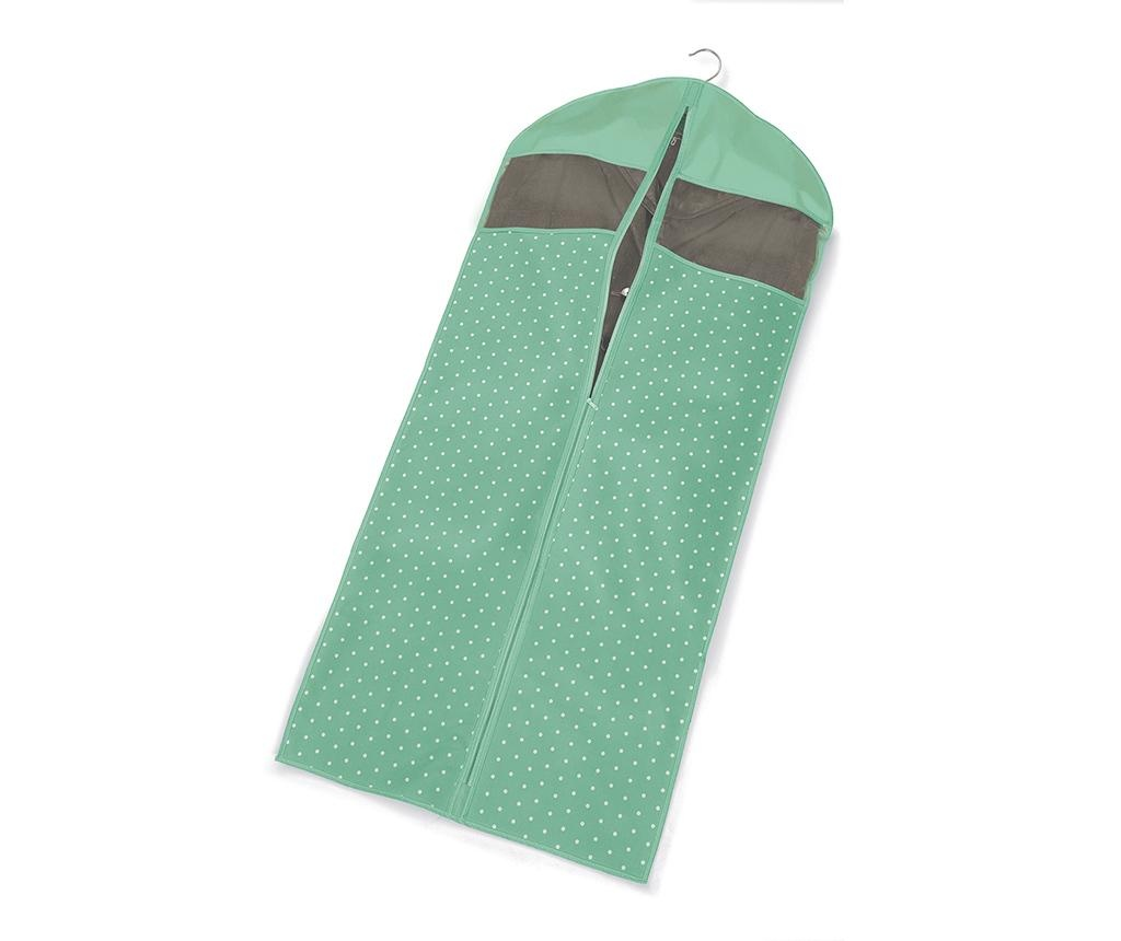 Husa pentru haine Vintage Green 60x137 cm