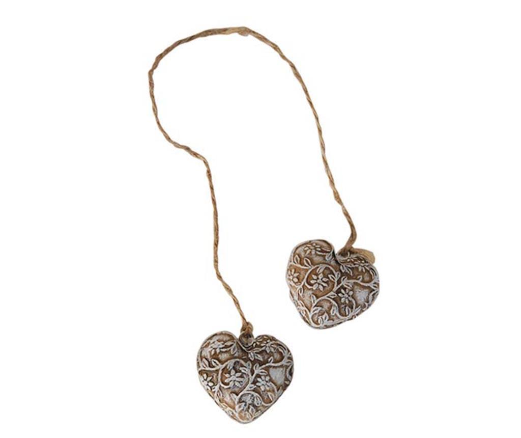 Decoratiune Double Heart