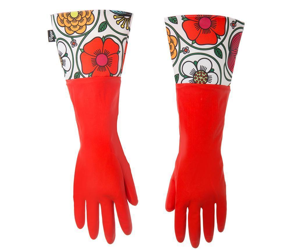 Rukavice za čišćenje Frida Red
