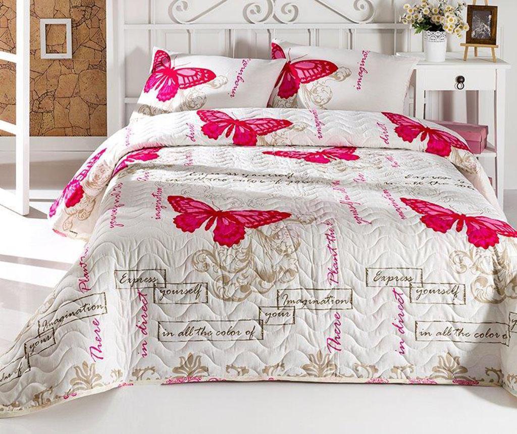 Set s prešitim posteljnim pregrinjalom Double Cocona