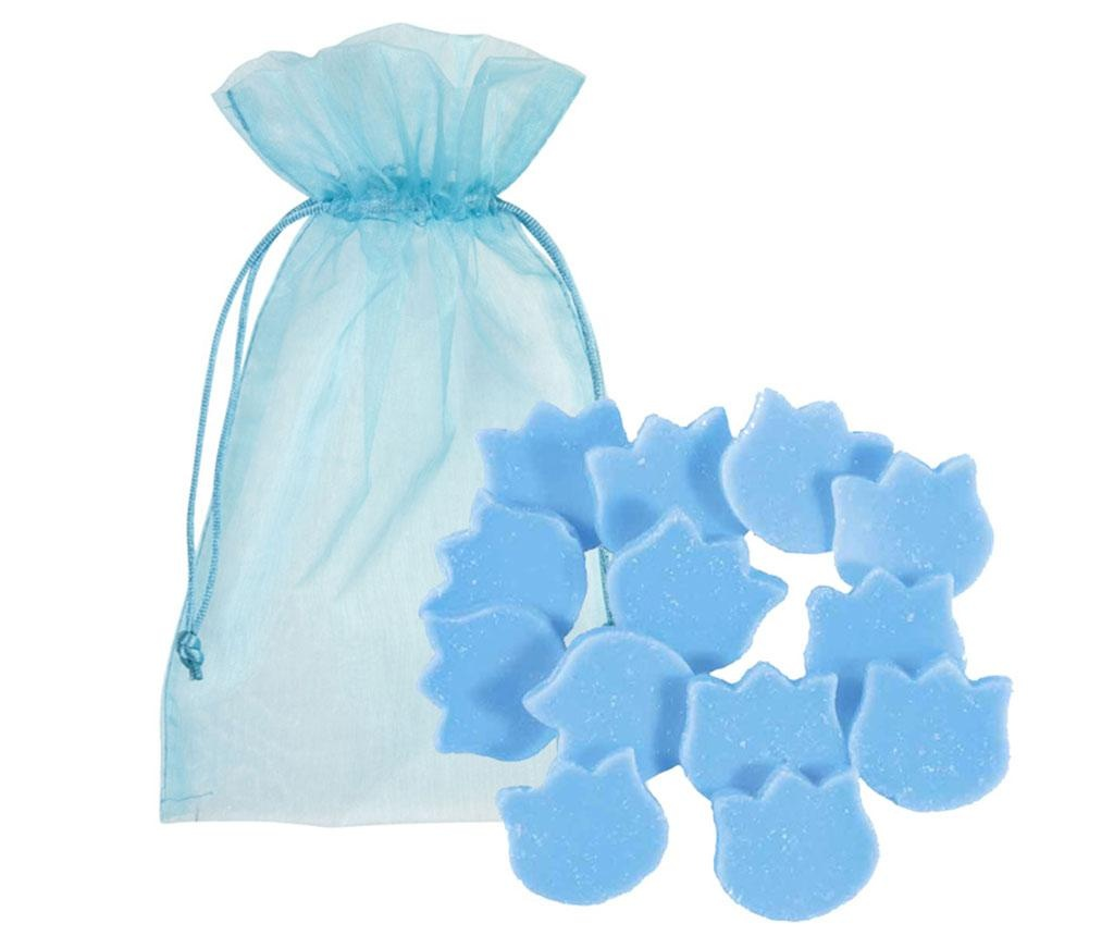 Set 9 bucati de ceara parfumata Blueberry 30 g