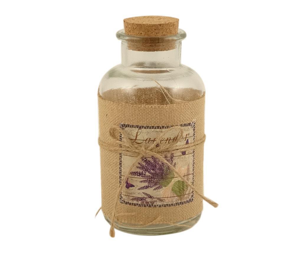 Ukrasna boca s čepom Lavender Bouquet