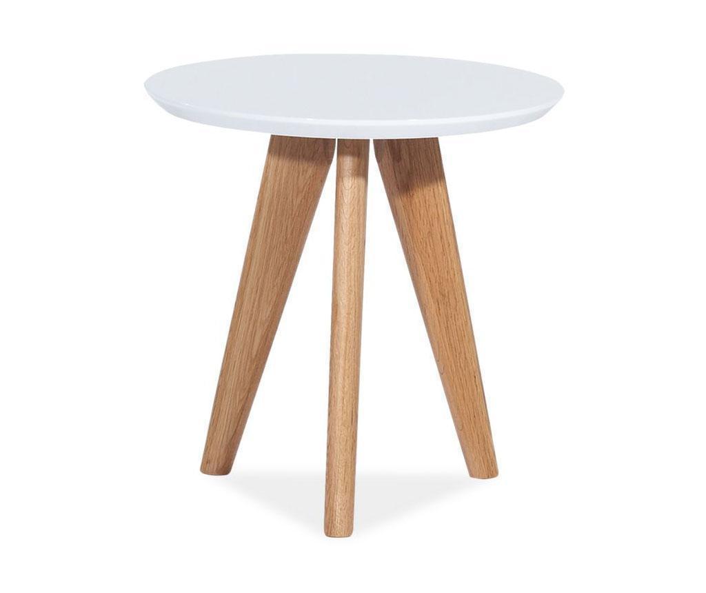 Klubska mizica Oslo Round