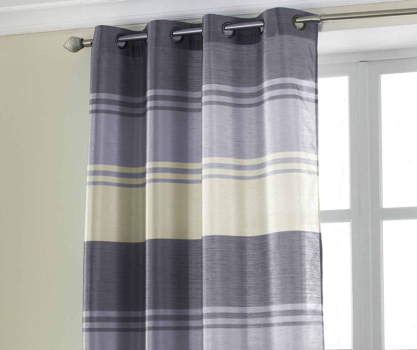 Zavesa Stripe Purple 145x228 cm