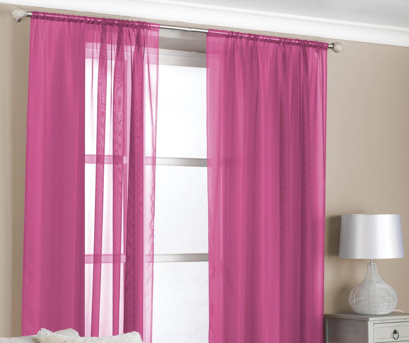 Set 2 perdele Slot Pink 150x229 cm