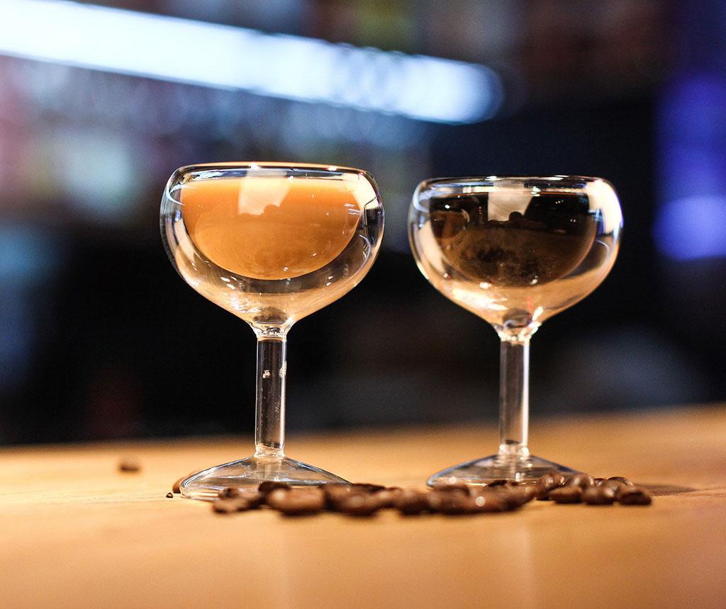 Set 2 pahare Doubled Vodka 30 ml