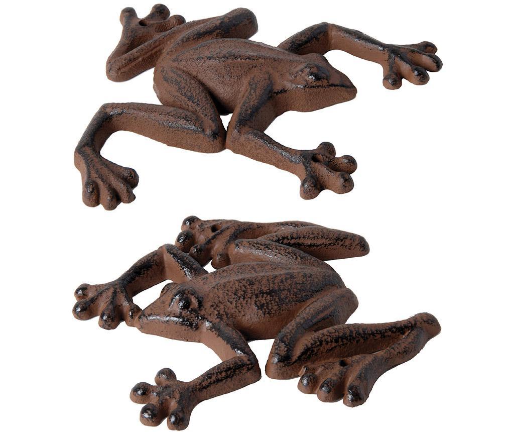 Set 2 decoratiuni de perete Frog