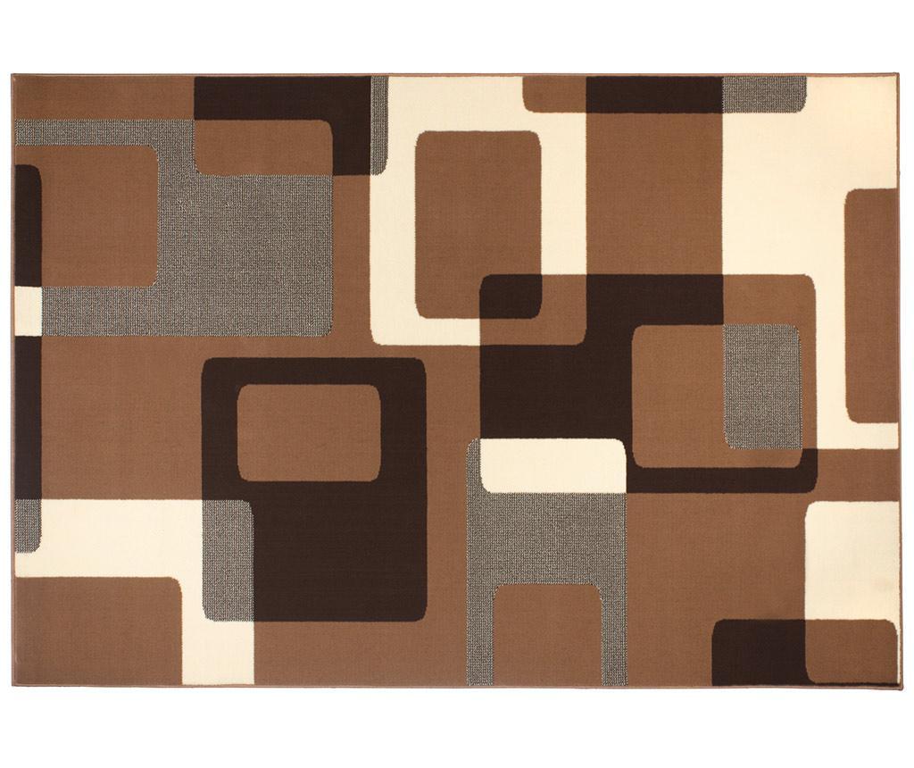 Preproga Retro Brown & Cream 80x200 cm
