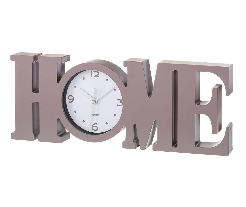 Decoratiune cu ceas Home Brown