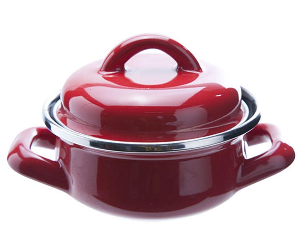 Cratita cu capac pentru sos Pot Red