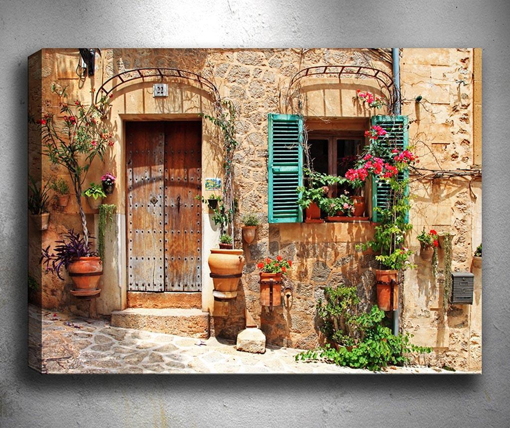 Tablou Facade 50x70 cm