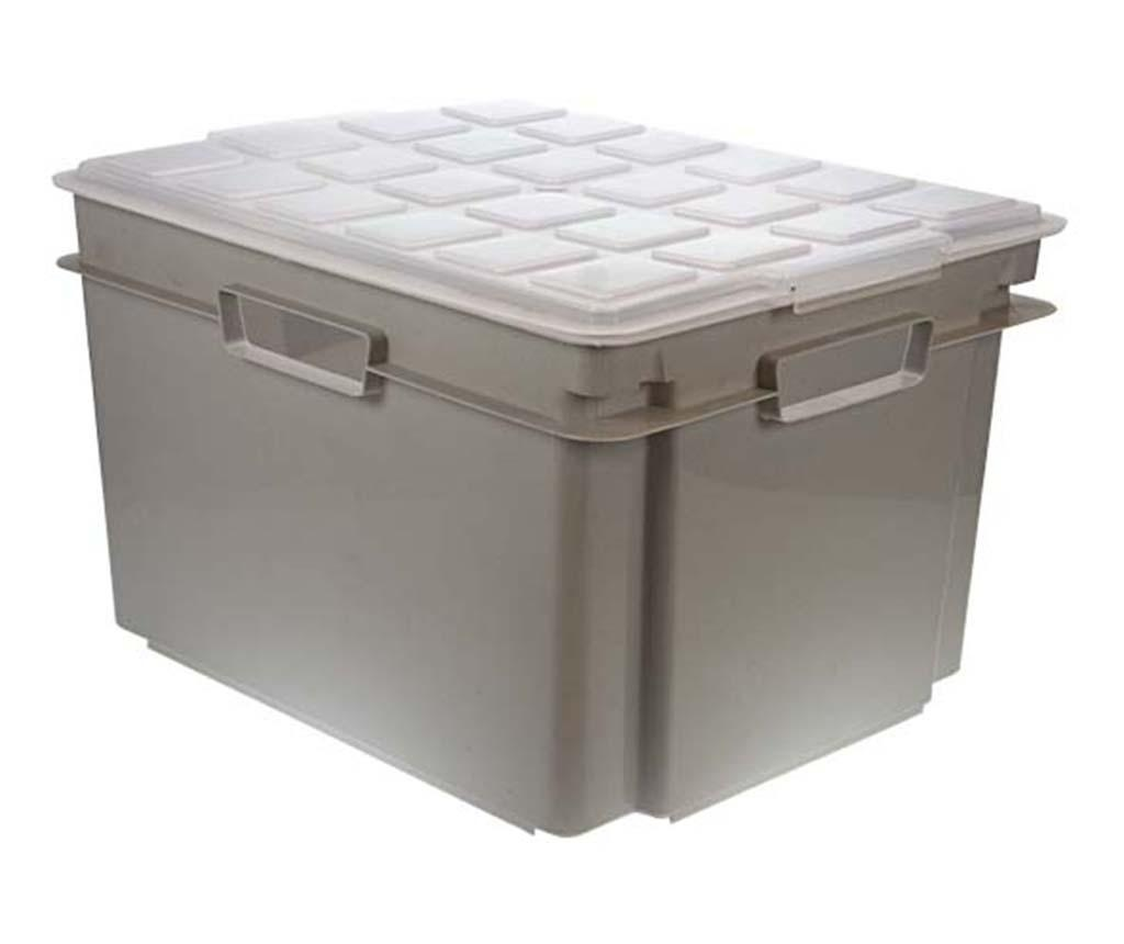 Kutija za spremanje s poklopcem Style Grey