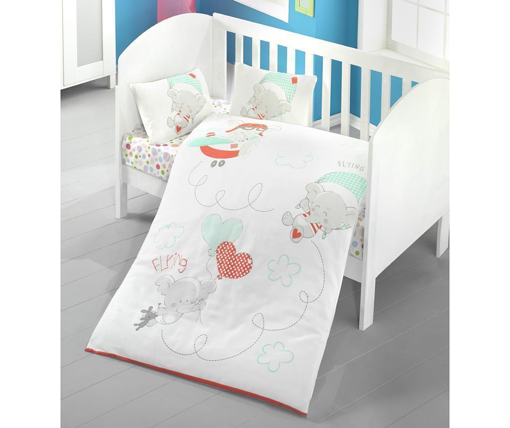 Baby Sky Ranforce ágynemű kiságyba 100x150