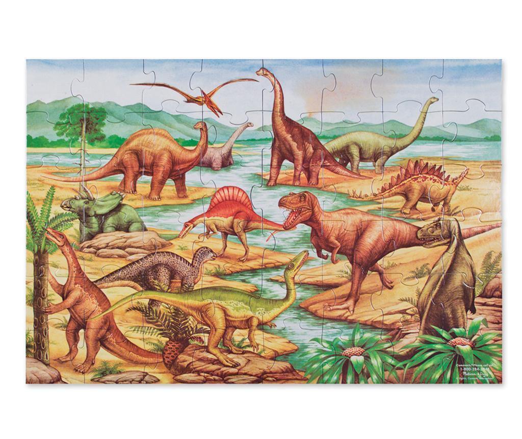 Puzzle de podea 48 piese Dinosaurs