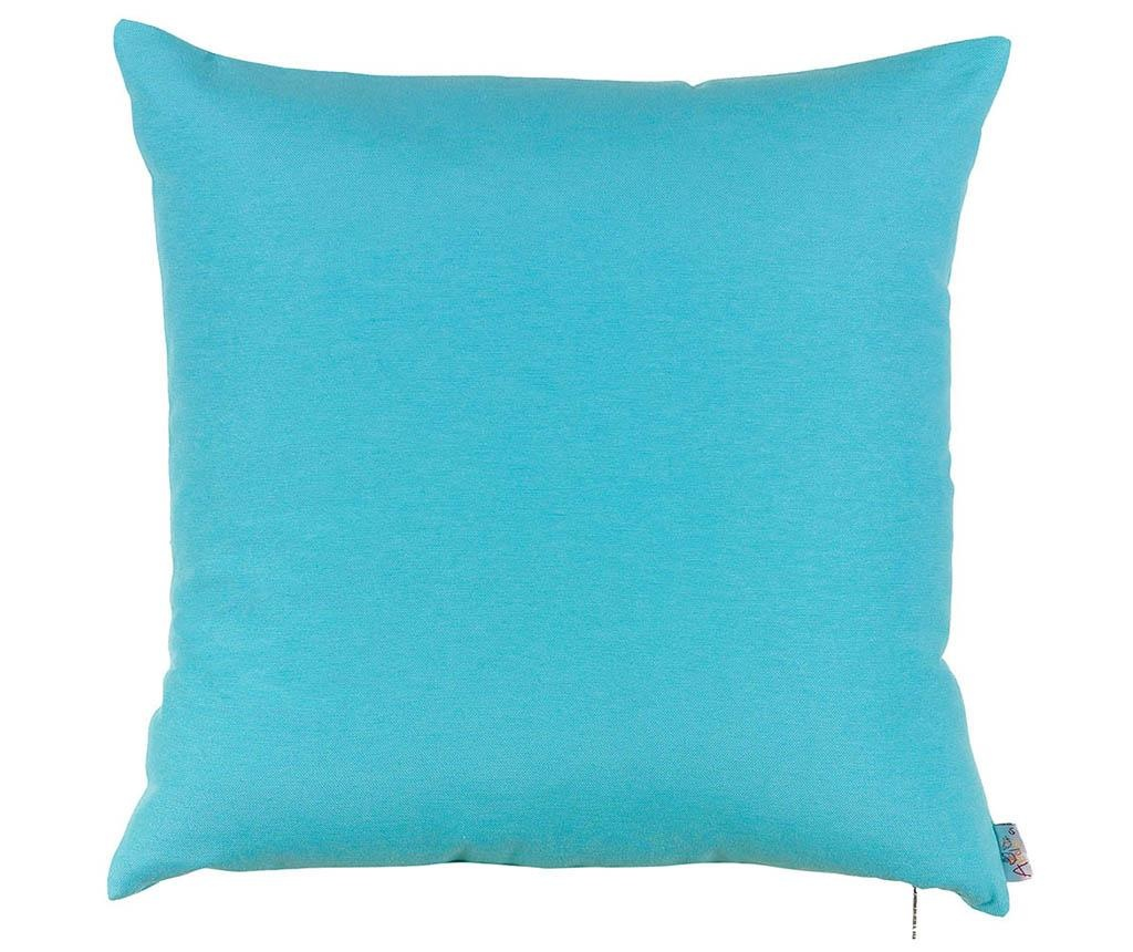 Fata de perna Thoughts Blue 41x41 cm