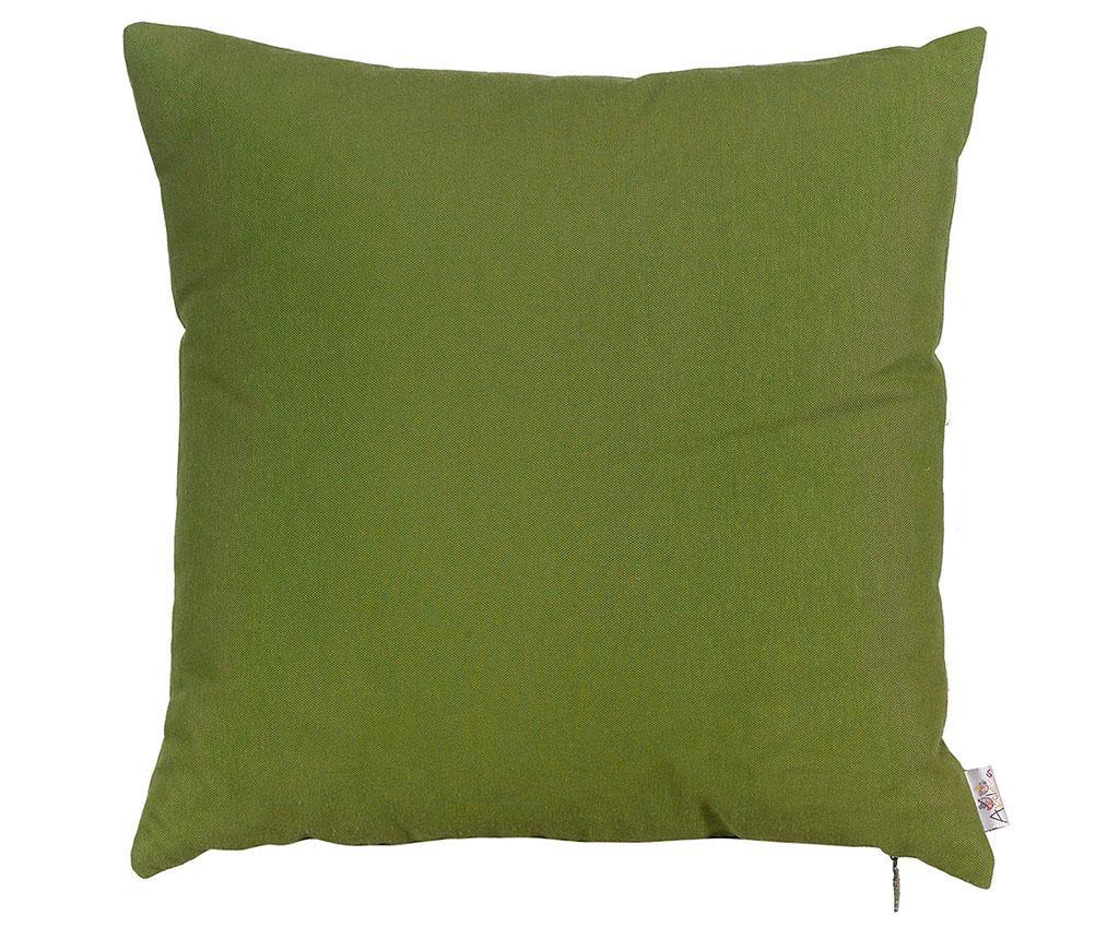 Fata de perna Thoughts Dark Green 41x41 cm