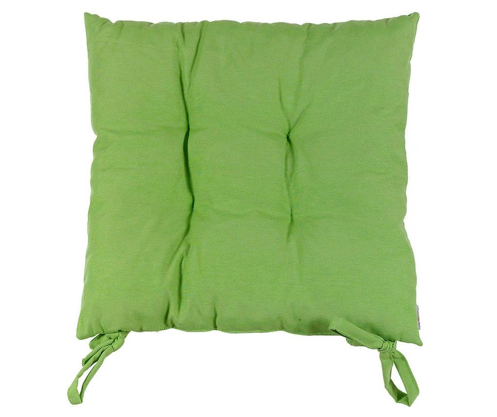 Perna de sezut Pure Light Green 37x37 cm