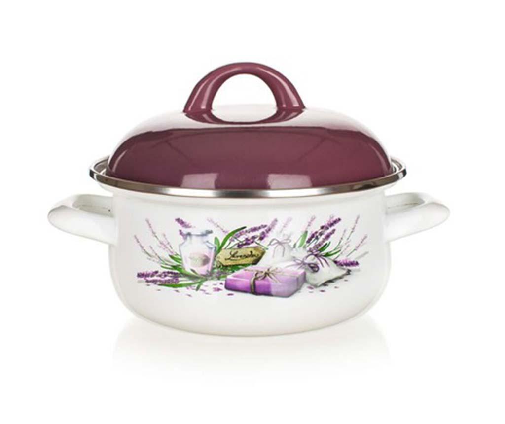 Lavender Lábas fedővel 1.4 L