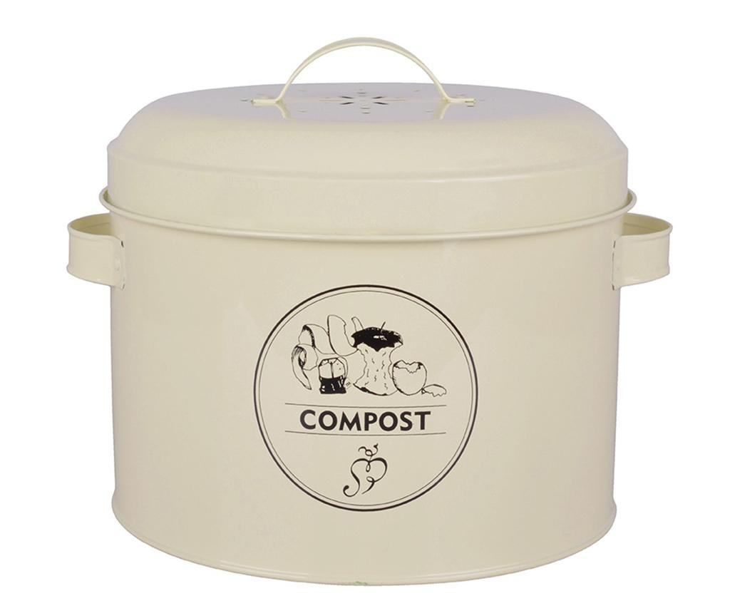 Recipient cu capac Galu Compost 6.325 L