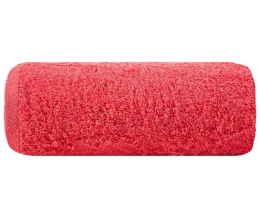 Plain Red Fürdőszobai törölköző