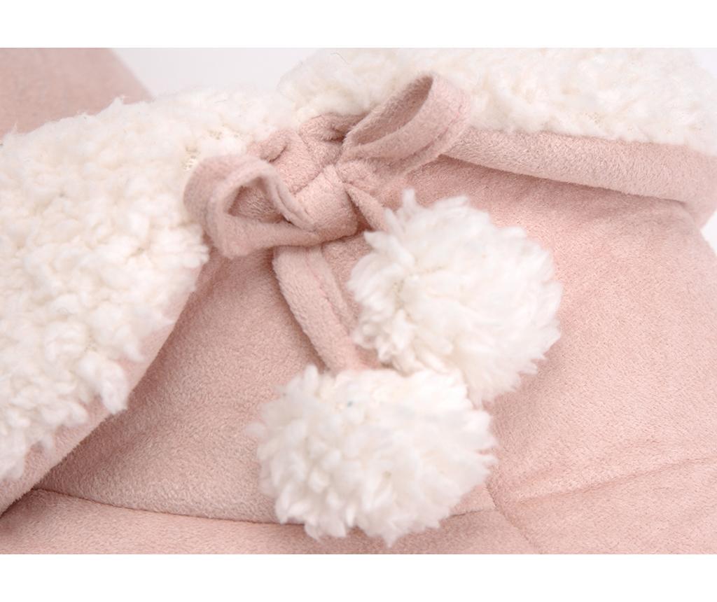 Hišni copati-škornji Pompons Light Pink 39-40