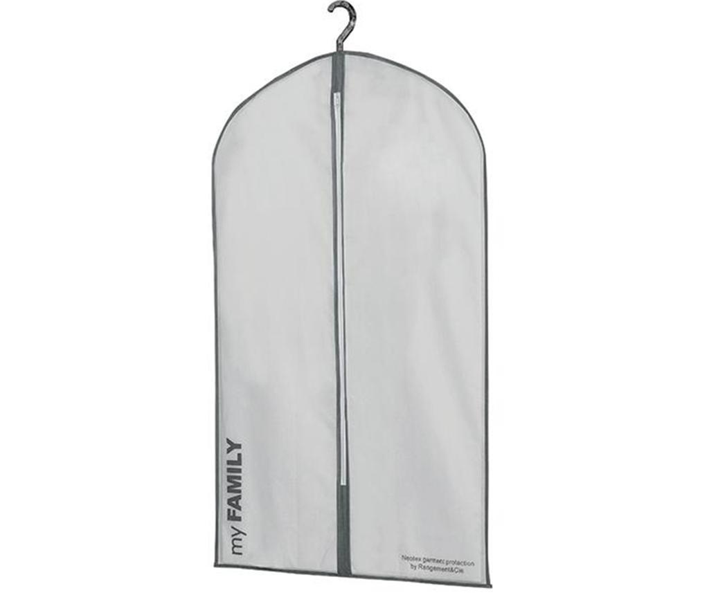 Husa pentru haine Ran White 56x100 cm