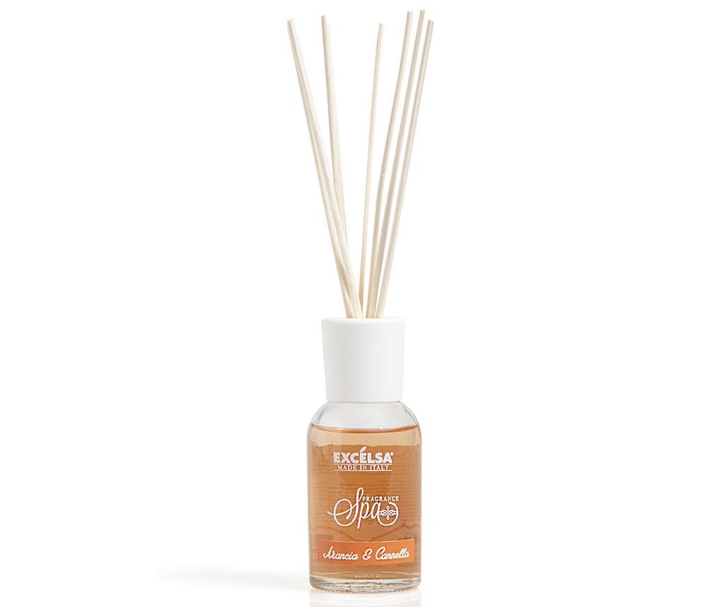 Dyfuzor z olejkami eterycznymi i patyczkami Orange and Cinnamon 100 ml