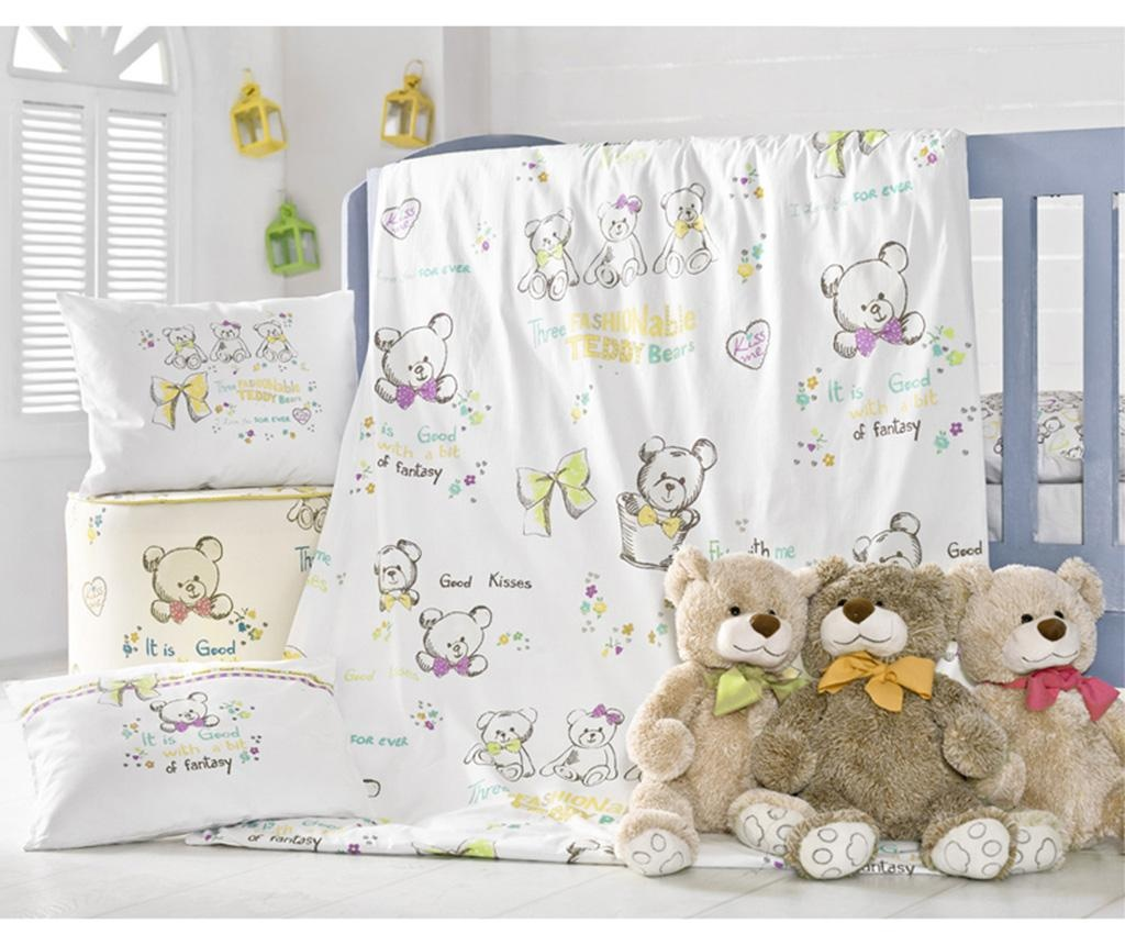 Set de patut Ranforce Fashionable Teddy Bears