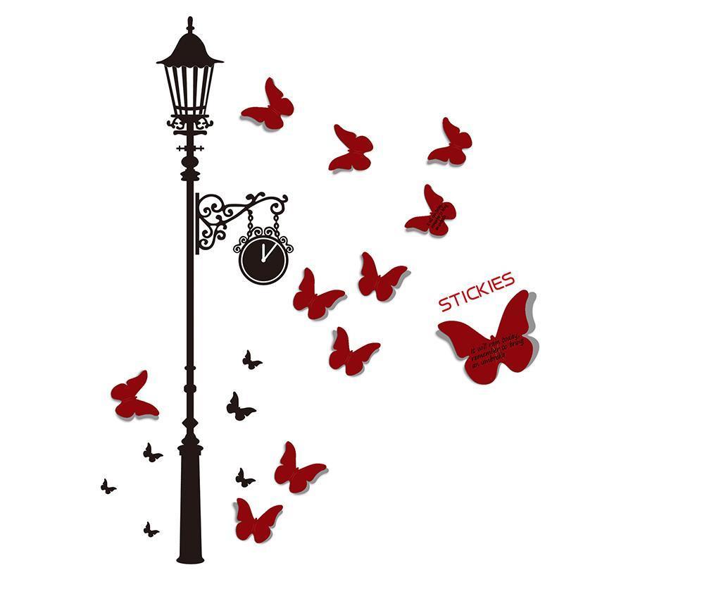 Butterfly Matrica és 100 post-it szett