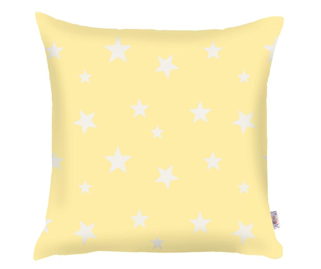 Jastučnica Stars Light Yellow 35x35 cm