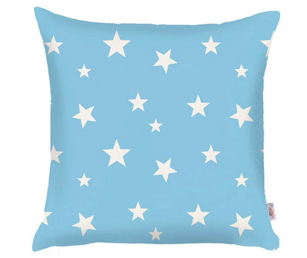 Jastučnica Stars Light Blue 35x35 cm