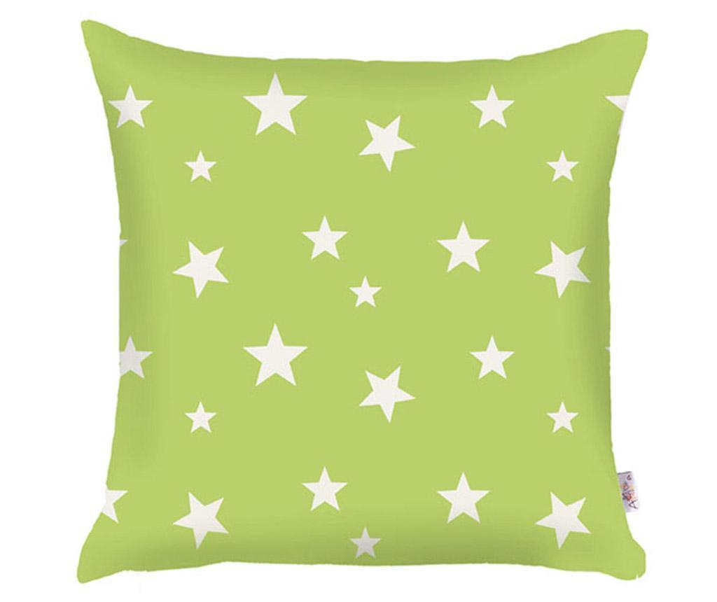 Jastučnica Stars Green 35x35 cm