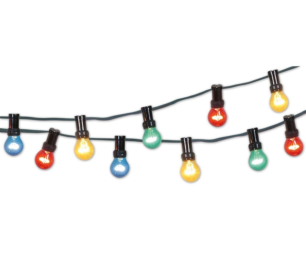 Ghirlanda luminoasa pentru exterior Color Party Light