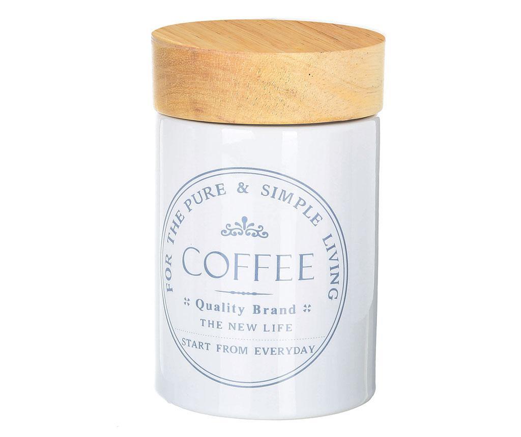 Recipient cu capac pentru cafea Simple Living