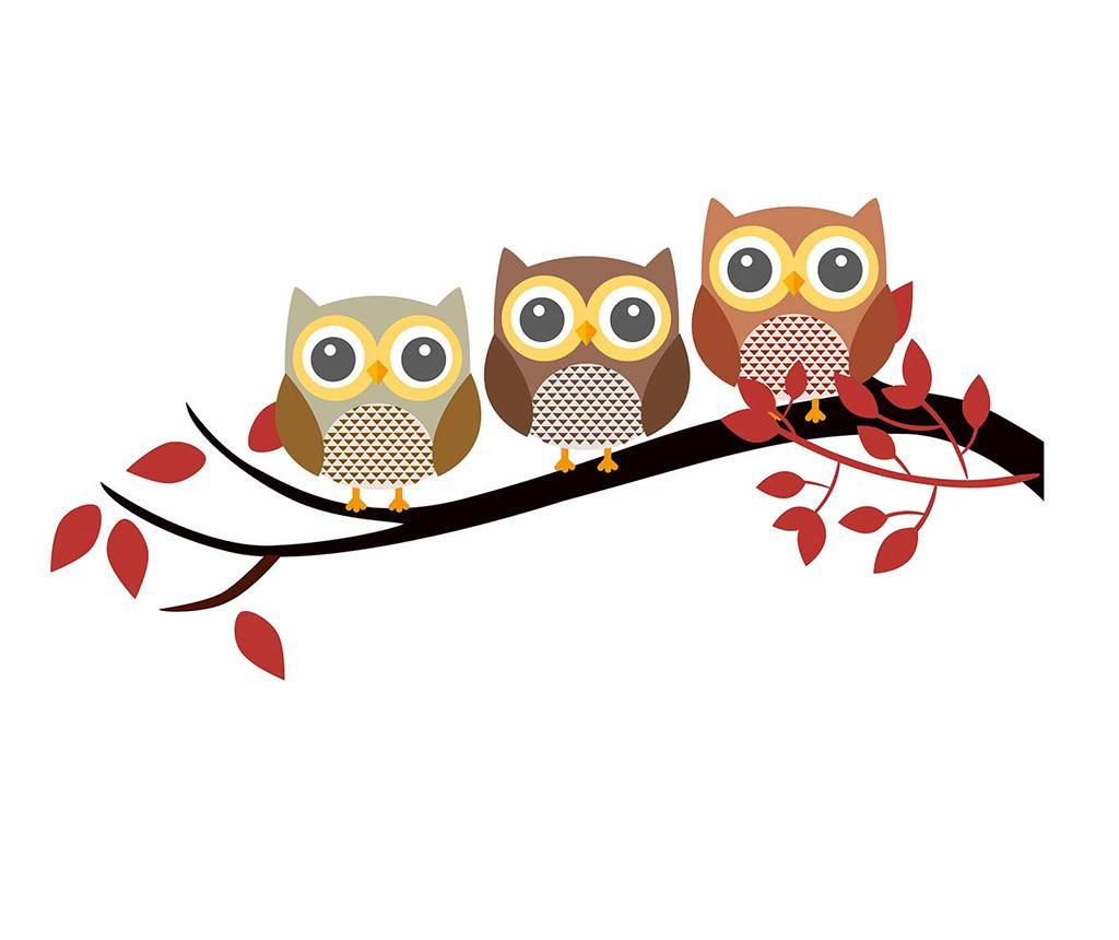 Sticker Owls Brench