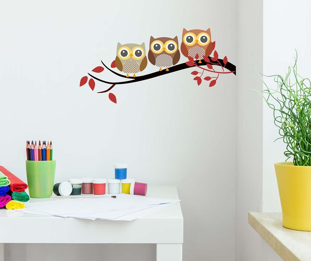 Naljepnica Owls Brench