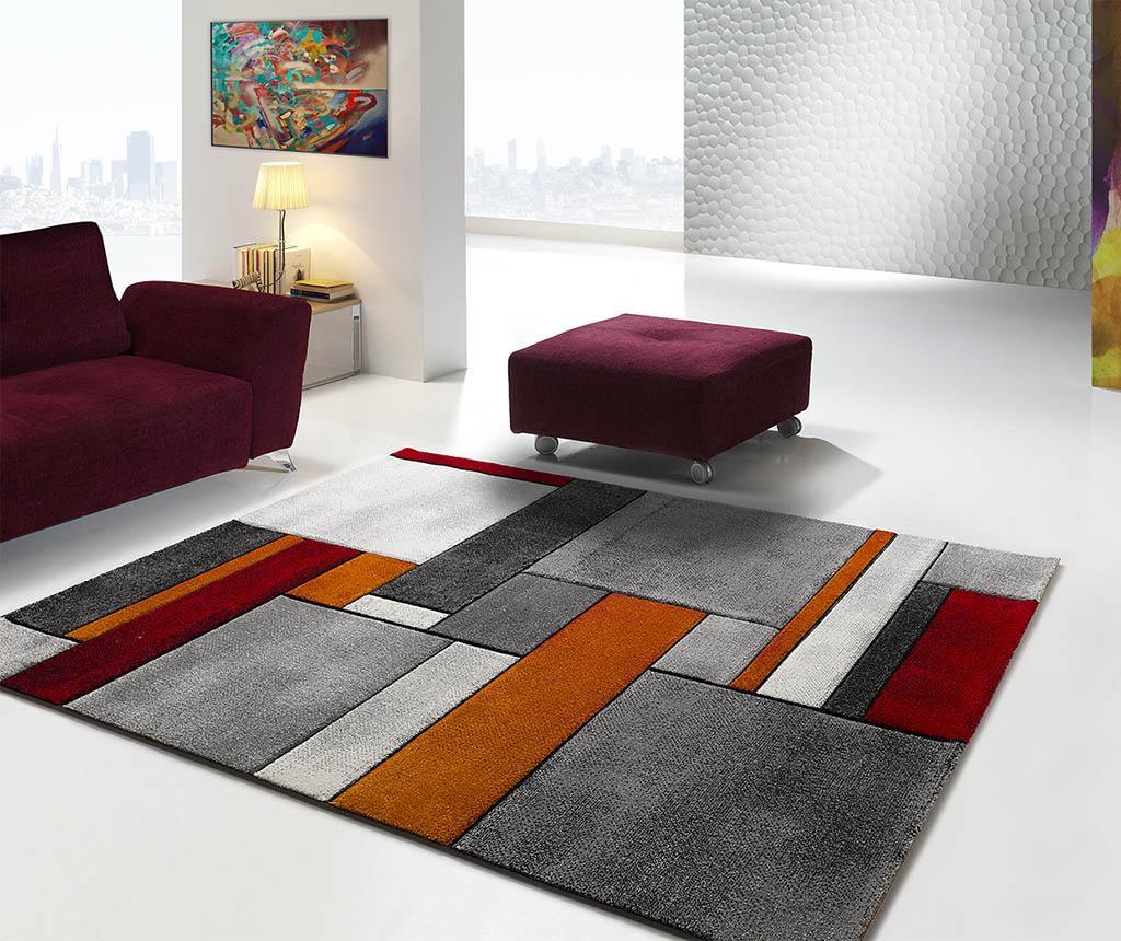 Preproga Malmo Blocks Grey 140x200 cm