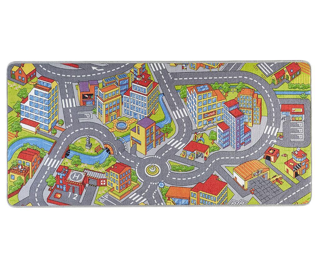 Tepih za igru Smart City Grey 160x240 cm